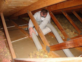 insulation removal Plympton & plymouth ma